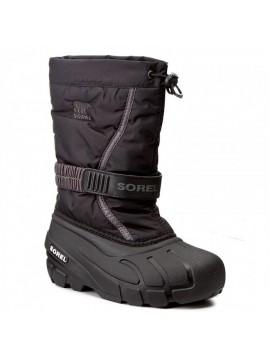 Sorel žiemos batai FLURRY. Spalva juoda