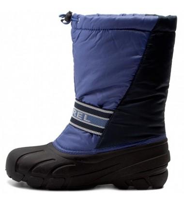 Sorel žiemos batai Youth CUB. Spalva mėlyna / juoda