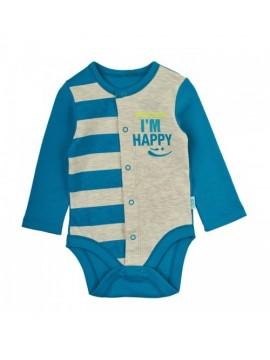 Garnamama bodžiukas ( I'M Happy )  Spalva mėlyna / pilka