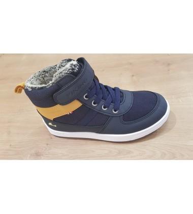 Viking žiemos batai LUKAS WP. Spalva tamsiai mėlyna