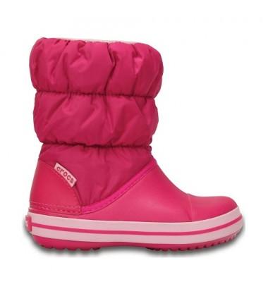 Crocs™ žieminiai batai Kids' Winter Puff. Spalva rožinė