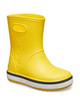 Crocsband Rain botai. Spalva geltona