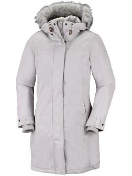 Columbia moteriška žieminė striukė LINDORES. Spalva šviesiai pilka