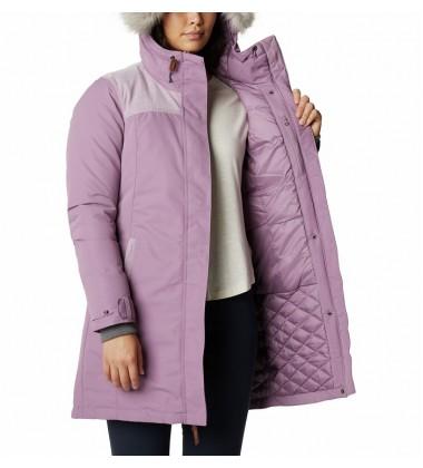 Columbia moteriška žieminė striukė LINDORES. Spalva šviesiai alyvinė