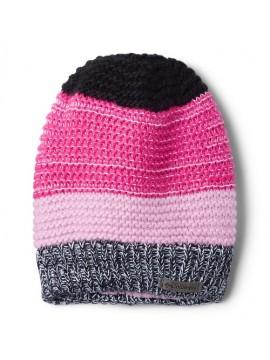Columbia kepurė Gyroslope mergaitei. Spalva juoda / rožinė