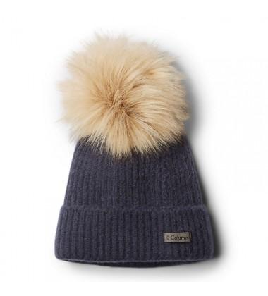 Columbia kepurė Winter Blur. Spalva tamsiai mėlyna