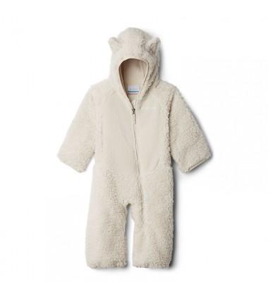 Columbia flisinis kombinezonas Foxy Baby Sherpa Bunting. Spalva pilka
