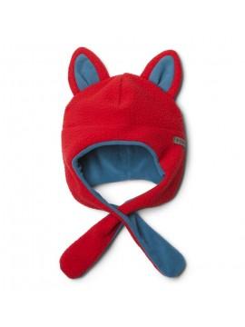 Columbia kepurė Tiny Animal Beanie. Spalva raudona