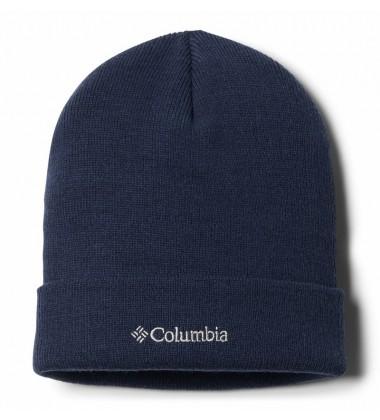 Columbia kepurė CITY TREK Heavyweight Beanie. Spalva tamsiai mėlyna