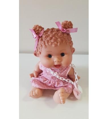 Nines d'Onil lėlytė Pepotin (mergaitė garbanė 23cm-29)