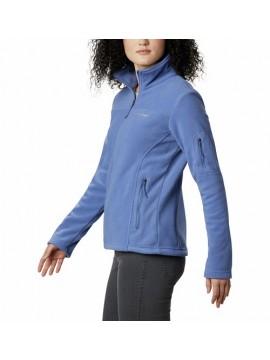 Columbia moteriškas flisinis džemperis FAST TREK II. Spalva šviesiai violetinė