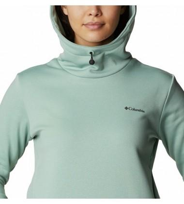 Columbia moteriškas džemperis W Out-Shield Dry Fleece Hoodie. Spalva žalsva