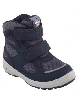 Viking žiemos batai ONDUR GTX. Spalva mėlyna / raudona