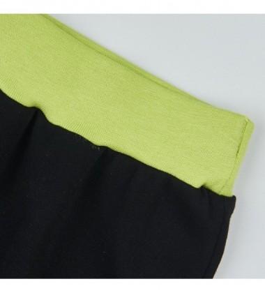 Garnamama vaikiškos kelnytės. Spava juoda / žalia