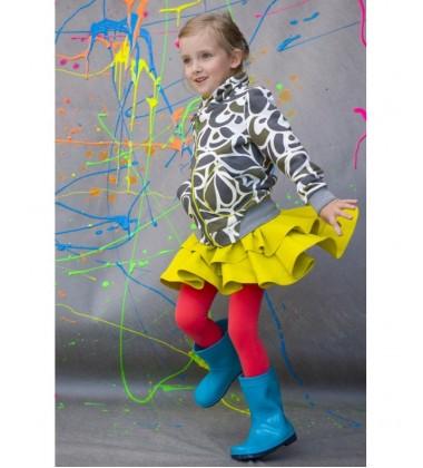 Monomy sijonas. Spalva laimo. Dydžiai 122-140cm