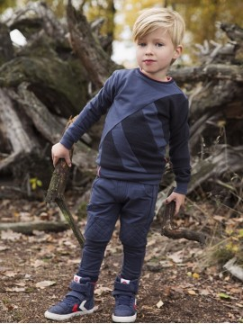 Koko - Noko  džemperis berniukui. Spalva tamsiai mėlyna