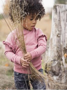 Koko - Noko megztinis mergaitei. Spalva rožinė