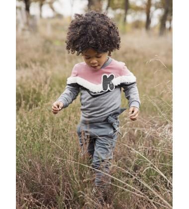 Koko - Noko vaikiškos kelnės su kaspinu. Spalva tamsiai žalia