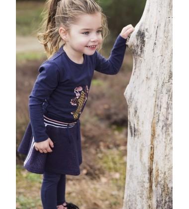 Koko - Noko sijonukas mergaitei. Spalva tamsiai mėlyna