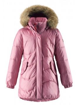 Reima pūkinis paltas Sula. Spalva šviesiai rožinė - užsakoma prekė