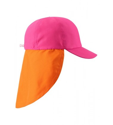 Reima kepurė su UV filtru Tropisk. Spalva rožinė / oranžinė