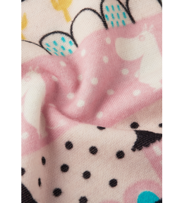 Reima termo – komplektas Moomin Trivsam. Spalva rožinė su printu