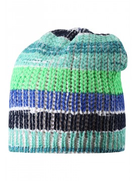 Reima pavasario kepurė TURBIDITE. Spalva mėlyna dryžuota