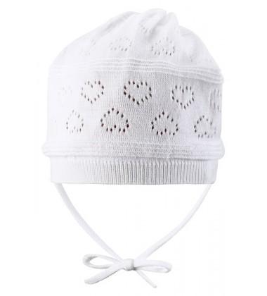 Reima pavasario kepurė VELVETY. Spalva balta