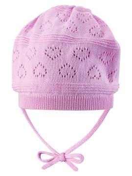Reima pavasario kepurė VELVETY. Spalva šviesiai rožinė