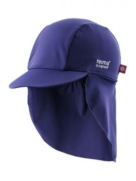 Reima kepurė su UV filtru SOMME. Spalva tamsiai mėlyna
