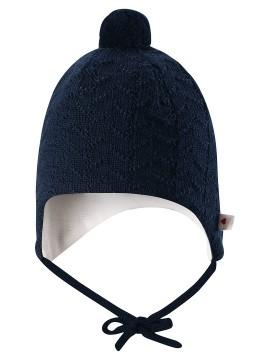 Reima kepurė Lintu. Spalva tamsiai mėlyna