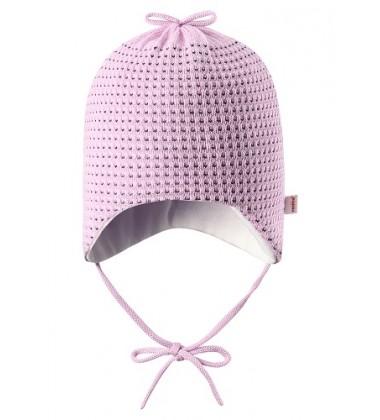 Reima pavasario / rudens kepurė naujagimiams Ujellus. Spalva šviesiai rožinė