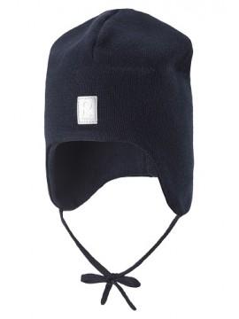 Reima rudens / pavasario kepurė Aqueous. Spalva tamsiai mėlyna