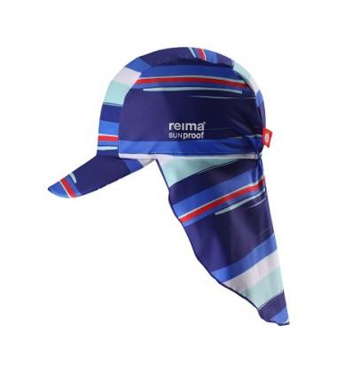 Reima kepurė su UV filtru SOMME. Somme. Spalva mėlyna / dryžuota