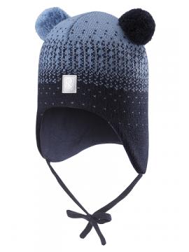 Reima žiemos kepurytė Sammal. Spalva tamsiai mėlyna