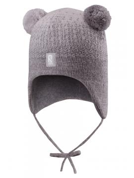 Reima žiemos kepurytė Sammal. Spalva pilka