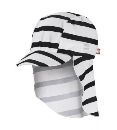 Reima vasaros kepurė Turtle. Spalva balta / dryžuota
