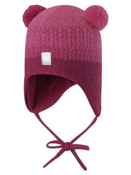 Reima žieminė kepurė Sammal. Spalva tamsiai rožinė