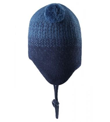 Reima žieminė kepurė Sammal. Spalva tamsiai mėlyna