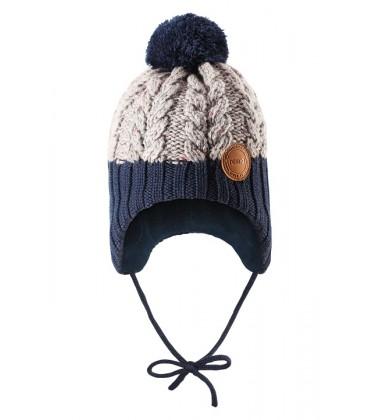 Reima kepurė Nahanni. Spalva tamsiai mėlyna / pilka