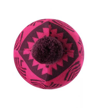 Reima kepurė Luumu. Spalva rožinė / bordo