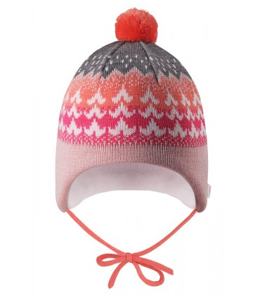 Reima kepurė Tuittu. Spalva rožinė / pilka / oranžinė