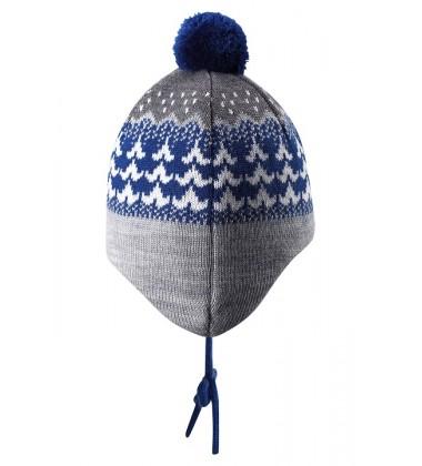 Reima kepurė Tuittu. Spalva mėlyna / pilka