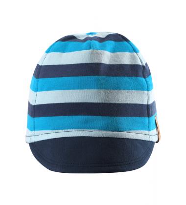 Reima pavasario / vasaros kepurė Kilppari. Spalva mėlyna / dryžuota