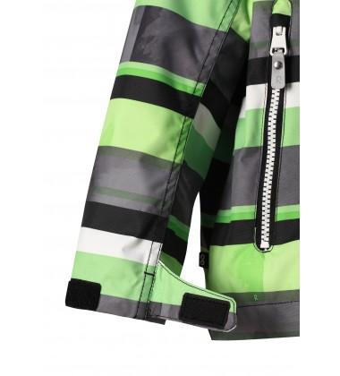 Reimatec®  demisezoninė striukė Schiff. Spalva žalia / balta / juoda