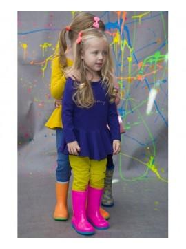 Monomy marškinėliai. Spalva violetinė. Dydžiai 86-110 cm