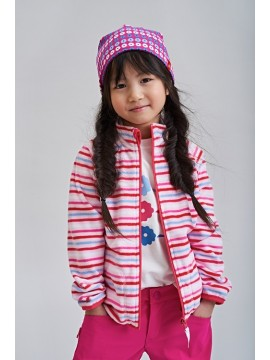Reima džemperis Nuoto. Spalva rožinė dryžuota