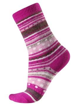 Reima vilnonės kojinės Rusko. Spalva rožinė
