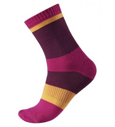 Reima vilnonės kojinės Kopina. Spalva rožinė