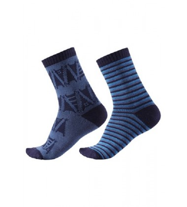 Reima kojinės Strum. Spalva tamsiai mėlyna